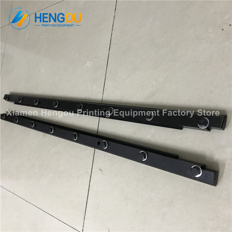 1 PAIR offset machine part blanket plate clamp for heidelberg PM74 Heidelberg plate clamp 1 piece 00 580 4473 03 automatic air bag plate clamp for heidelberg sm52 plate clamp 00 580 4473