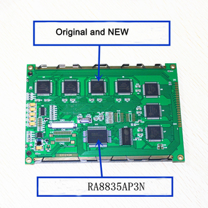 Image 2 - شحن مجاني 1 قطعة lcd 5.7 320240A وحدة LCD 320*240 5.7 بوصة LCD استبدال LM2088SFW RA8835APSN متوافق SED1335