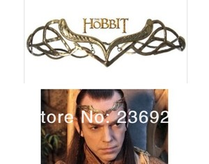 Image 2 - ZRM wholesale 6pcs/lot vintage Hobbit Elronds crown Lord of the Rin gs The Headdress of Elrond,original factory supply