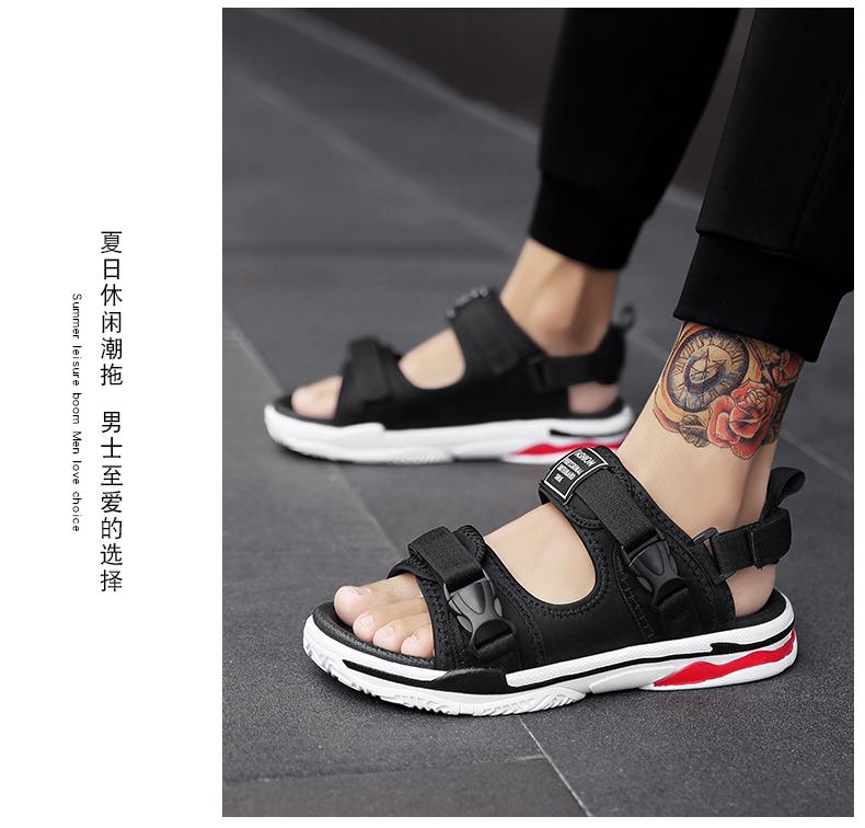 Man Beach Sandals Summer Gladiator Men's Outdoor Shoes Roman Men Casual Shoe Light Flip Flops Slippers Fashion Sandals Casuals 17