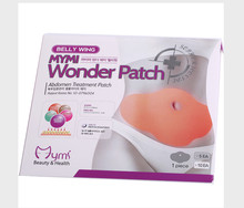 10 PCS/2 Boxes MYMI Wonder Slim Patch Slimming Belly Body Wraps Lose Weight Abdomen Fat Burning Heath Care Production