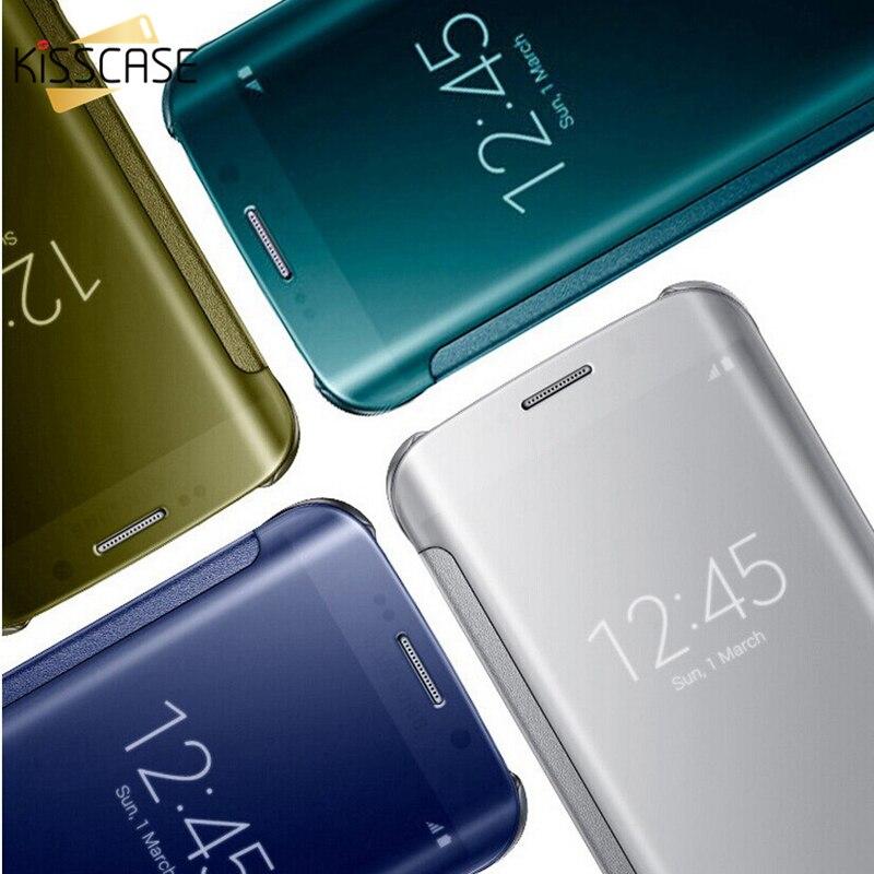 KISSCASE S6 Edge S7 Edge Case For Galaxy S6 S7 Edge Clear Mi