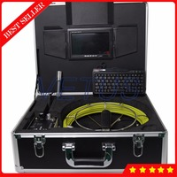 710DK Pipe Sewer Drain Wall Inspection Camera with DVR Recorder 8GB SD card 20m Cable and Keyboard Industrial Endoscope