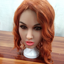 AILIJIA silicone sex dolls #149 Oral Sex Doll Heads for Male Big Size Love Dolls 135cm-176cm Sex Toy (Head Only) sex mannequin torso full silicone sex doll head only for male sex toys products oral sex love dolls