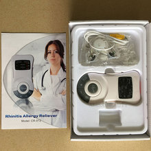 Original Rhinitis Therapy Machine Allergy Reliever Low Frequency Laser Hay Fever Sinusitis Treatment Device Nose Care Massager