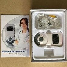 Oryginalny zapalenie błony śluzowej nosa maszyna do terapii dla alergików gadżety antystresowe niskiej częstotliwości laserowe katar sienny zapalenie zatok urządzenie do leczenia nos masażer do pielęgnacji