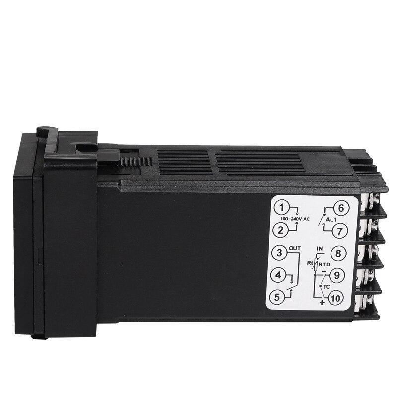 Freeshipping Digital PID TEMPERATURE CONTROLLER Termostato Uscita - Strumenti di misura - Fotografia 6