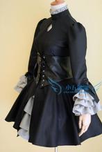 Por encargo barato Oscuro Sable cosplay (Hollow Ataraxia) de la ropa Fate Stay Night Anime Navidad