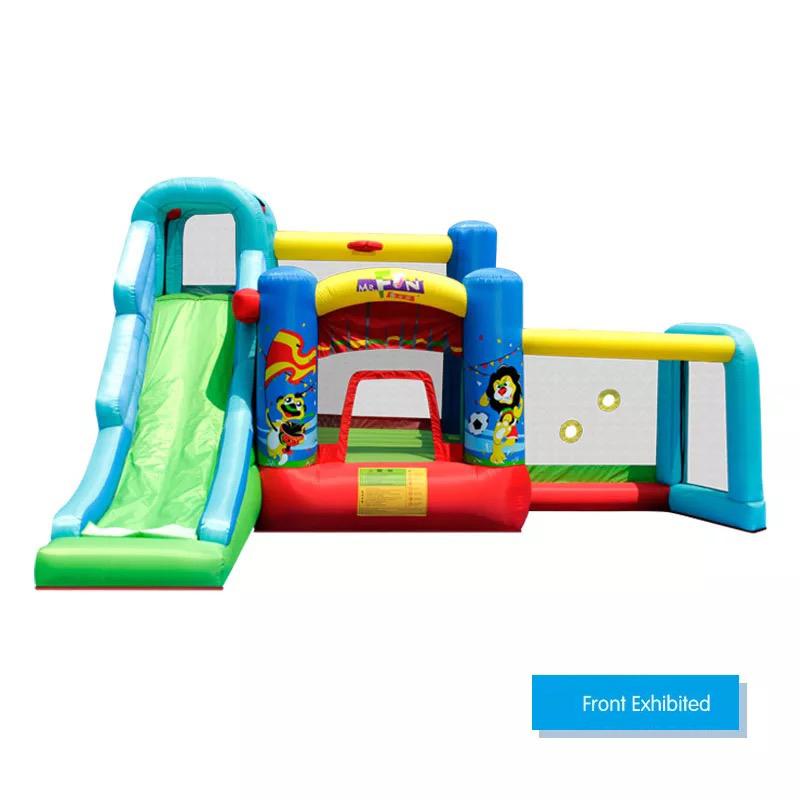 HTB1nt gPFXXXXciXFXXq6xXFXXXJ - Mr. Fun Animal World Cup Inflatable Trampoline Bounce House with Kids Slide Playhouse with Blower