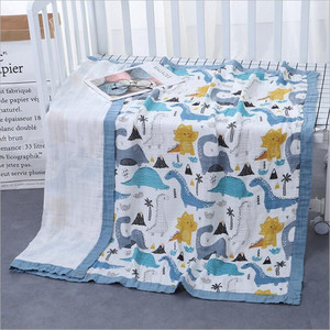 Image 4 - 29 conceptions 4 et 6 couches doux mousseline bambou coton enfants enfants lit couverture nouveau né dormir recevoir bébé couverture Swaddle