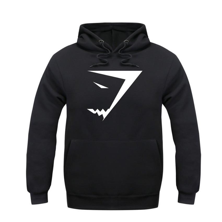 The social club Hot Selling Winter Autumn Men s Fashion sup Shark Hoodies Sweatshirts Casual PE