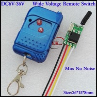 Car Truck Bus Motorcycle Light Lamp LED Power Remote Control Switch Wireless Switch Mini Receiver Transmitter12v14v16v18v24v36v