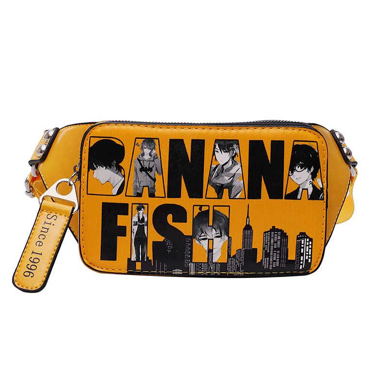 Pochetes de Graffiti Para As Mulheres 2019 Novo Designer Sacos Saco Senhoras Moda Bolsas de Telefone Cinto Peito Feminino Pacote de Cintura de Couro