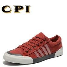 IPC zapatos de lona hombres zapatos casuales transpirable Zapatos resistentes al desgaste cómodo ronda toe LACE-up Zapatillas Zapatos planos DD-06