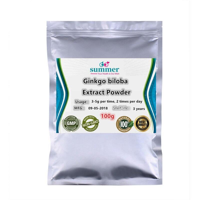 100-1000g Wild Ginkgobiloba extract powder,Ginkgo leaf extract,rootextract; yajiaotong,Ginkgo biloba leaves tea bag cut powder