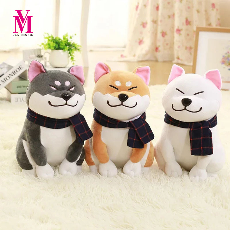 Limited Real Cotton Tv & Movie Character Soft Unicorn Peluches Shiba Inu Dog Japanese Doll Toy Doge Cute Cosplay Gift 25cm super cute plush toy dog doll as a christmas gift for children s home decoration 20