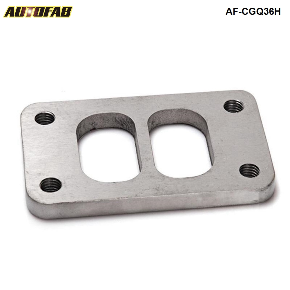 High Quality T03 Divided Turbo Inlet Flange W/ Tapped Holes, Stainless Steel AF-CGQ36H