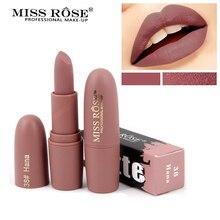 Купить с кэшбэком Miss Rose Matte Lipstick Waterproof Sexy Cosmetics For Makeup Easy To Wear Lipsticks Long Lasting Natural Lips Make up