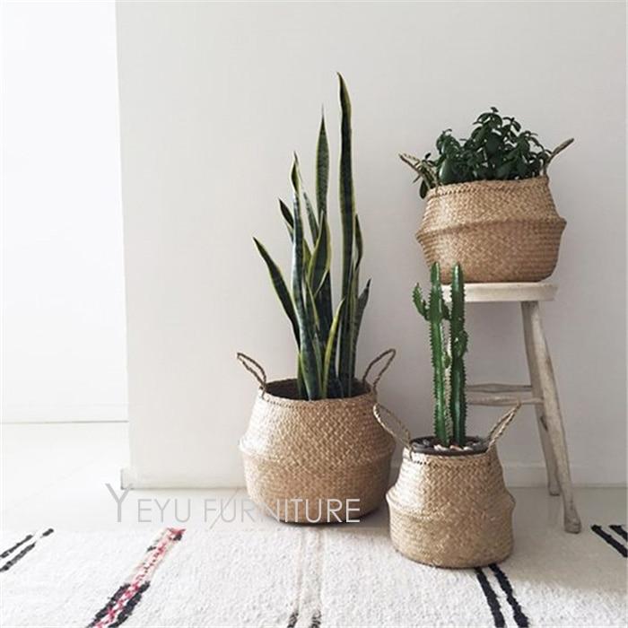 Basket Weaving Plants : Aliexpress buy modern design weaving storage basket