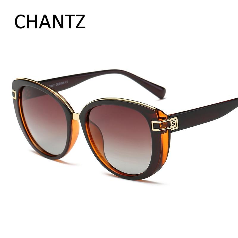 Augstas kvalitātes kaķu acu saulesbrilles sievietēm polarizēti - Apģērba piederumi