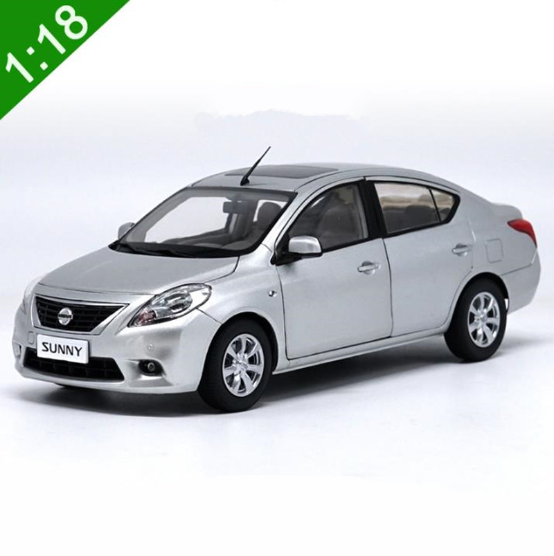 High simulation Nissan Sunny,Original 1:18 sacle alloy car Advanced collection model,diecast metal vehicle,free shipping