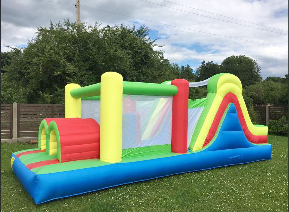 Bounce House Inflatable Obstacle Course Jumping Castle Moonwalk Trampoline For Kids Inflatable Bouncer Bouncy Castle adult inflatable bouncer jungle fun bounce house jumper trampoline moonwalk for sale