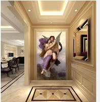 3d Wallpaper Home Decoration Angels Men And Women Of The World Famous Oil Paintings Photo Mural