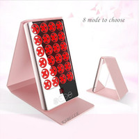 Handheld Mini LED Light Therapy Facial Machine 4 Colors Red Blue Green Yellow Photon Light Therapy