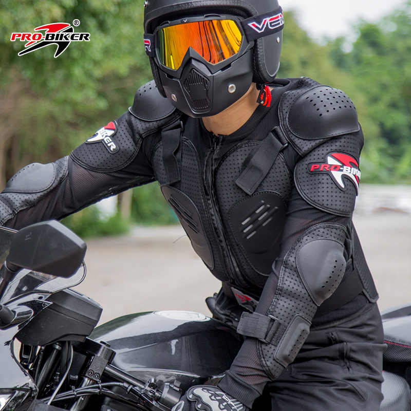 Motorcycle Racing Armor Protector gear Motocross Off-Road Body Protection Jacket Clothing Protective Gear M,L,Xl,XXL,XXXL,XXXXL herobiker armor removable neck protection guards riding skating motorcycle racing protective gear full body armor protectors