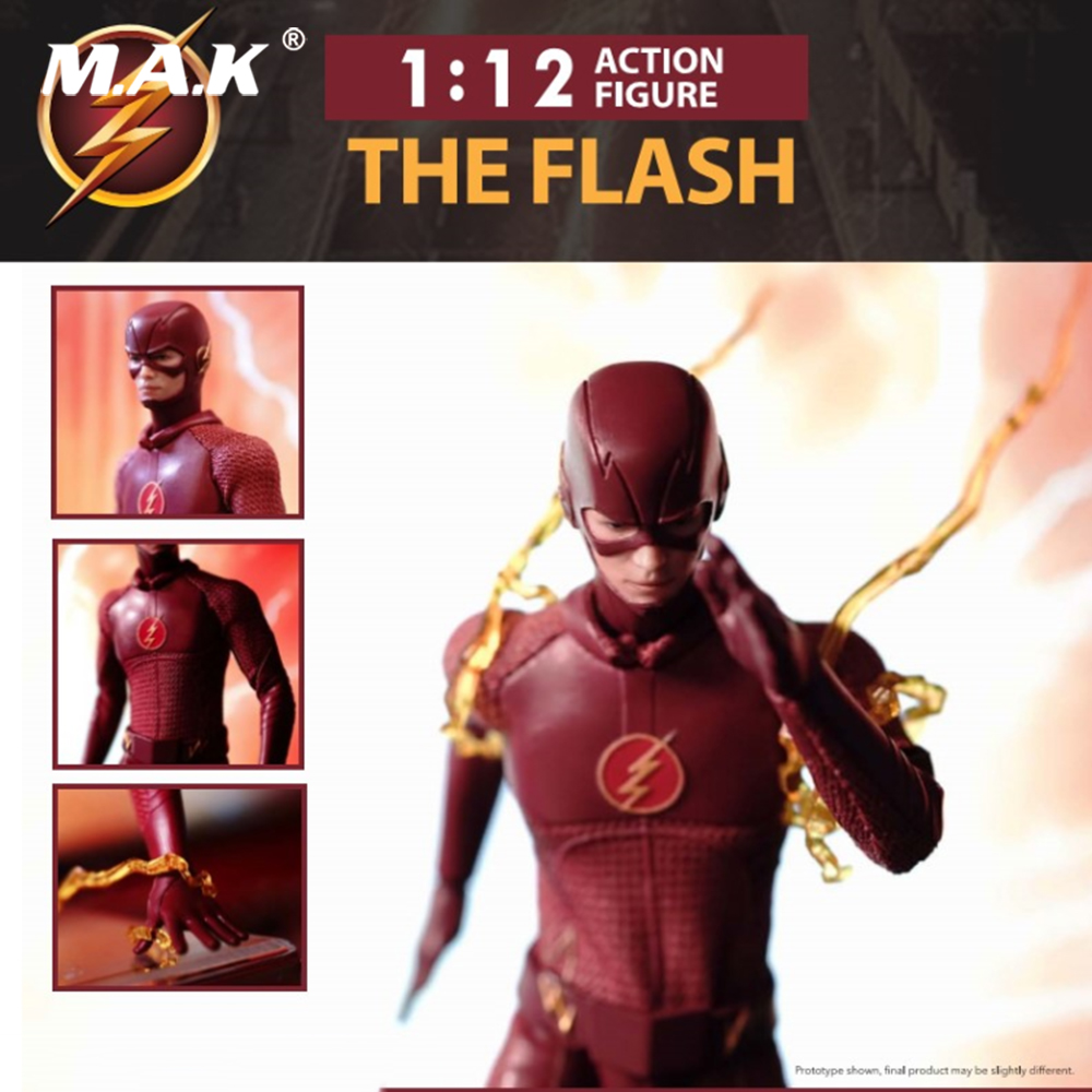 15cm 1/12 The Flash Barry Allen Action Figure Collectible Model Toys barry white barry white the 20th century records albums 9 lp