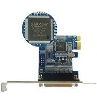 Parallel Port DB25 25Pin Printer to PCI E Express Card Converter Adapter