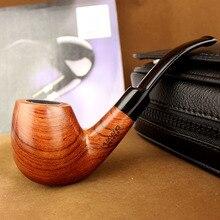 Raucher 6 Rauchen Werkzeuge Neue Stil Rosenholz Rauchen Tabak-rohr Hochwertige Holz Rohr für Rauchtabak 2015