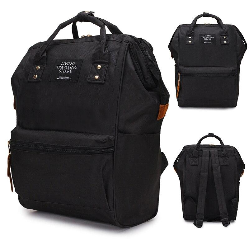 2019 rucksack High-kapazität Rucksack Frauen Rucksack Computer Reine Farbe Teenager Rucksack Weibliche Mochila Rucksack Schulter Tasche