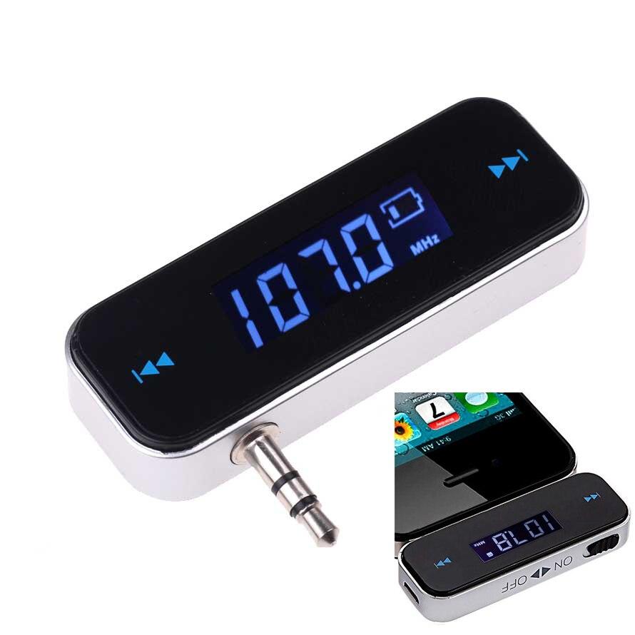 Беспроводной мини-автомобильный радиоприемник Elistooop 3,5 мм, музыкальный fm-передатчик, FM-модулятор громкой связи, ЖК-дисплей, дисплеер