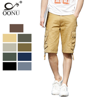OONU Brand 2017 Summer Men S Army Cargo Work Casual Bermuda Shorts Men Fashion Joggers Overall