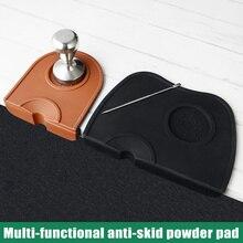 Silicone Coffee Tamper Mat Slip-Resistant Pad Home Tea Tools Espresso MDD88