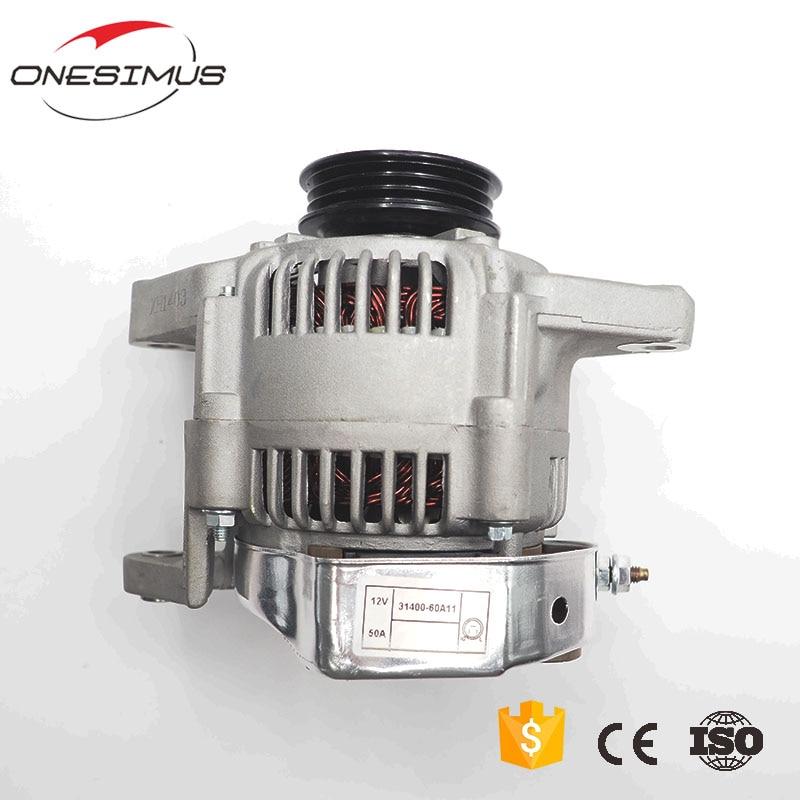 12V/50A Alternator OEM 31400-60A11 NEW for suzuki G16A G16B G13A VITARA/JUSTY II/X-90