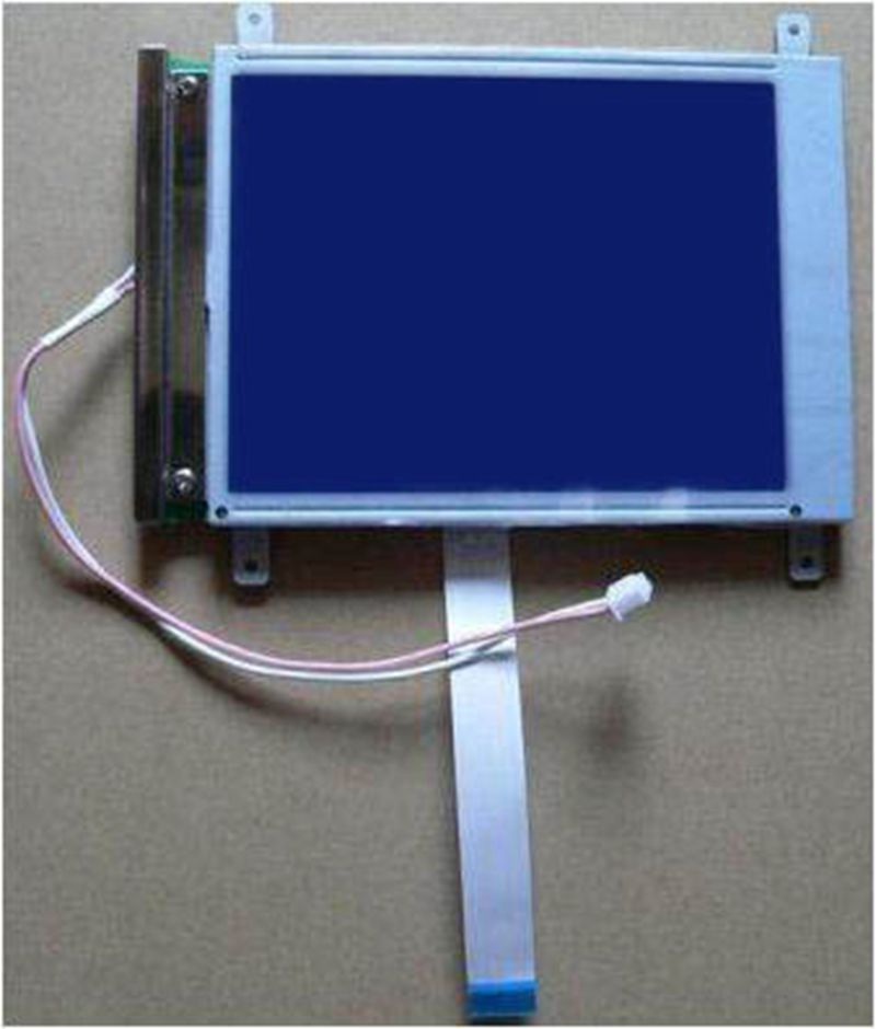 5.7 Inch TW-22 94V-0 HLM8619 HLM8620 OP25 OP27 perfectly compatible LCD screen.8080 Parallel 14pin new ag320240a1 14pin cable 320240a1 ampire lcd panel compatible blue color new