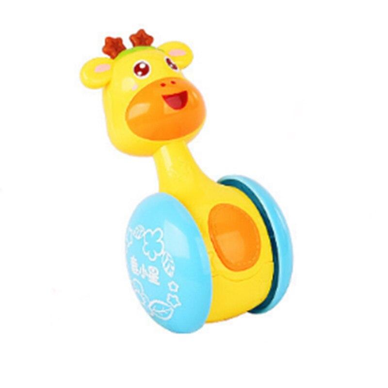 Милый неваляшка погремушка встряхивания колокольчик детские развивающий, образовательный игрушки подарки
