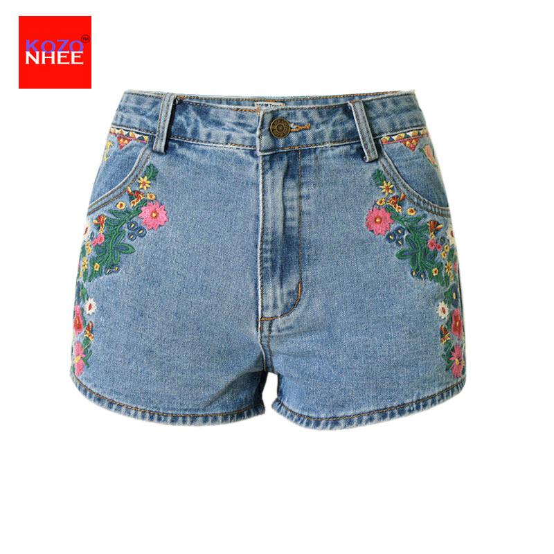 Popular Patterned Denim Shorts-Buy Cheap Patterned Denim Shorts ...