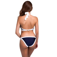 Brazilian Bikini set Sexy High Neck Bandage Swimsuit