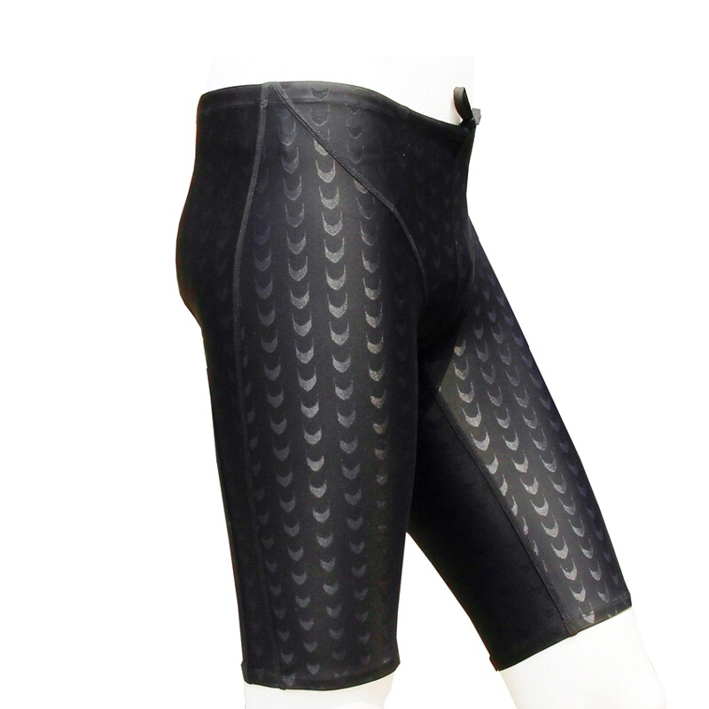 Pant Swimsuit Jammer Shark-Skin Competitive Racing Briefs Water-Repellent Professional