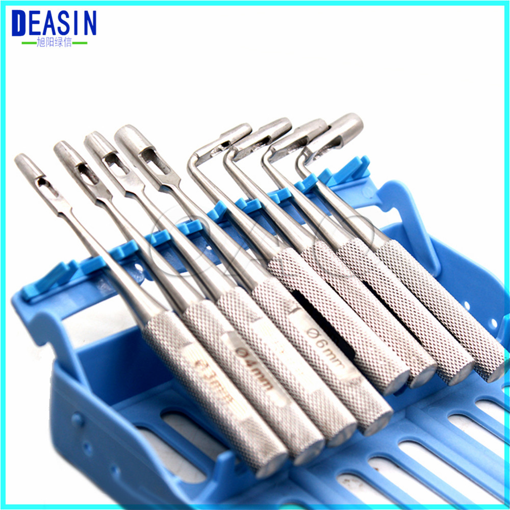 2018 Deasin Dental gums soft tissue mucosa gingiva dentist Implant surgical instrument tools 1 piece implant bone mixing cup bowl dental surgical lab instrument tool bone well implant instrument