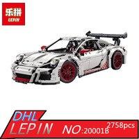 LEPIN 20001B 2758Pcs New Technic Series Classic 911 Race Car 42056 Educational Building Bricks Blocks Boys