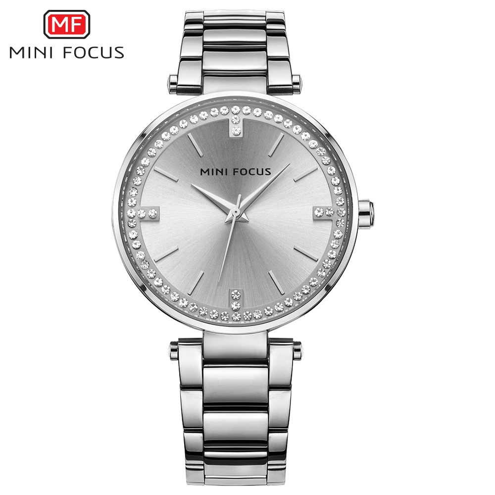 MINIFOCUS New Ladies Famous Brand Quartz Watch 2018 Top Fashion Dress Women Watches Female Clock Montre Femme Relogio Feminino misscycy lz the 2016 new fashion brand top quality rhinestone men s steel band watch quartz women dress watch relogio feminino