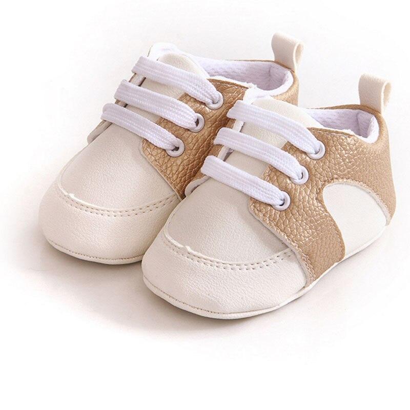 Prosty styl Baby boy dziewczyna PU miękkie dno Płaskie buty - Buty dziecięce - Zdjęcie 2