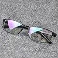 Original de Aluminio Medio Marco Óptico Miopía Gafas de Diseño Hombres de La Vendimia Gafas De Grau Gafas Feminino
