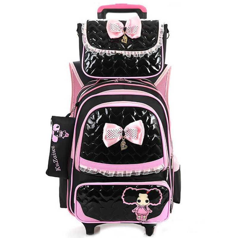 Popular Pink Wheeled Backpack-Buy Cheap Pink Wheeled Backpack lots ...