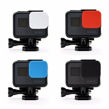 Gentle Silicone Protecting Lens Cap Cowl Case For Gopro Hero 5 Black Digital camera