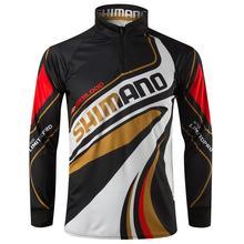2018 новая рыболовная рубашка с длинным рукавом быстросохнущая УФ дышащая Спортивная одежда для рыбалки